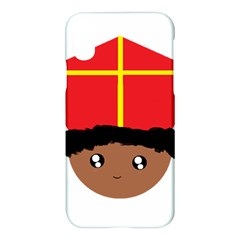 Cutieful Kids Art Funny Zwarte Piet Friend Of St  Nicholas Wearing His Miter Apple Iphone X Hardshell Case by yoursparklingshop