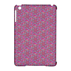 Whirligig Pattern Hand Drawing Pink 01 Apple Ipad Mini Hardshell Case (compatible With Smart Cover) by Cveti