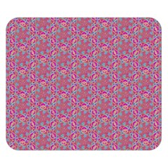 Whirligig Pattern Hand Drawing Pink 01 Double Sided Flano Blanket (small)  by Cveti