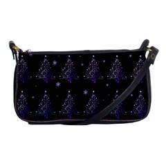 Christmas Tree   Pattern Shoulder Clutch Bags by Valentinaart