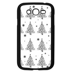 Christmas Tree   Pattern Samsung Galaxy Grand Duos I9082 Case (black) by Valentinaart