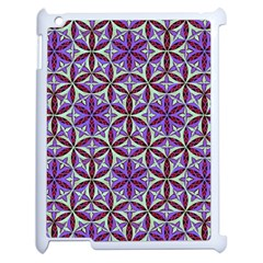 Flower Of Life Hand Drawing Pattern Apple Ipad 2 Case (white) by Cveti