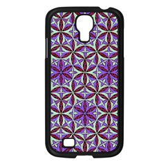 Flower Of Life Hand Drawing Pattern Samsung Galaxy S4 I9500/ I9505 Case (black) by Cveti