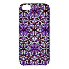 Flower Of Life Hand Drawing Pattern Apple Iphone 5c Hardshell Case by Cveti