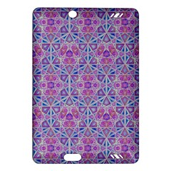 Star Tetrahedron Hand Drawing Pattern Purple Amazon Kindle Fire Hd (2013) Hardshell Case by Cveti