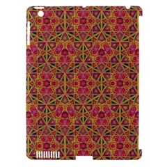 Star Tetrahedron Pattern Red Apple Ipad 3/4 Hardshell Case (compatible With Smart Cover) by Cveti