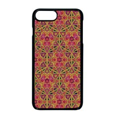 Star Tetrahedron Pattern Red Apple Iphone 8 Plus Seamless Case (black) by Cveti