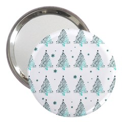 Christmas Tree   Pattern 3  Handbag Mirrors by Valentinaart