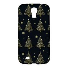 Christmas Tree   Pattern Samsung Galaxy S4 I9500/i9505 Hardshell Case by Valentinaart