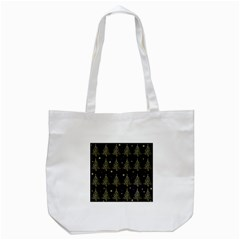 Christmas Tree   Pattern Tote Bag (white) by Valentinaart