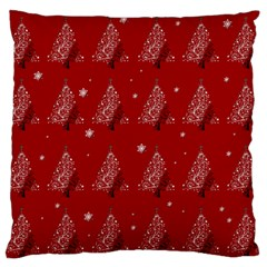 Christmas Tree   Pattern Large Flano Cushion Case (two Sides) by Valentinaart