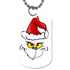 Grinch Dog Tag (one Side) by Valentinaart