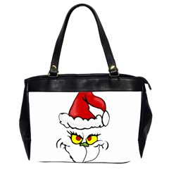 Grinch Office Handbags (2 Sides)  by Valentinaart