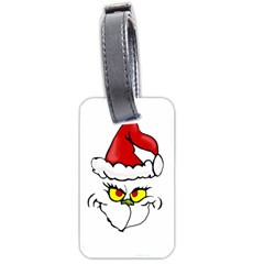 Grinch Luggage Tags (one Side)  by Valentinaart