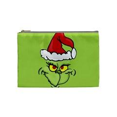 Grinch Cosmetic Bag (medium)  by Valentinaart
