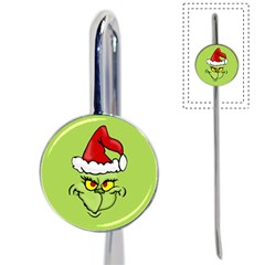 Grinch Book Mark by Valentinaart