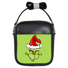 Grinch Girls Sling Bags by Valentinaart