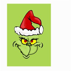 Grinch Large Garden Flag (two Sides) by Valentinaart