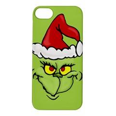 Grinch Apple Iphone 5s/ Se Hardshell Case by Valentinaart