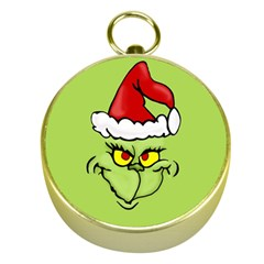 Grinch Gold Compasses by Valentinaart