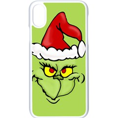 Grinch Apple Iphone X Seamless Case (white)