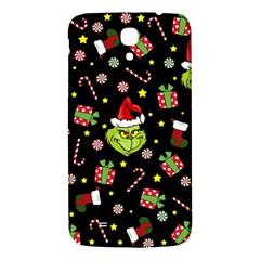 Grinch Pattern Samsung Galaxy Mega I9200 Hardshell Back Case by Valentinaart
