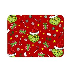 Grinch Pattern Double Sided Flano Blanket (mini)  by Valentinaart