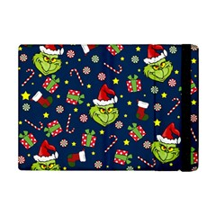 Grinch Pattern Ipad Mini 2 Flip Cases by Valentinaart