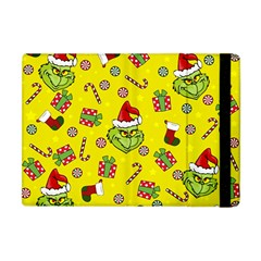 Grinch Pattern Apple Ipad Mini Flip Case by Valentinaart
