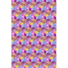 Hexagon Cube Bee Cell Pink Pattern 5 5  X 8 5  Notebooks by Cveti