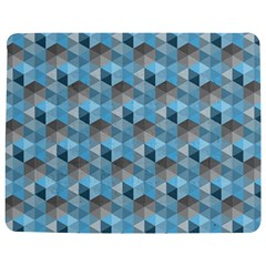 Hexagon Cube Bee Cell  Blue Pattern Jigsaw Puzzle Photo Stand (rectangular) by Cveti