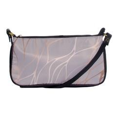 Rose Gold, Wave,beautiful,feminine,chic,elegant,metallic,modren,wedding,pink,trendy Shoulder Clutch Bags by 8fugoso