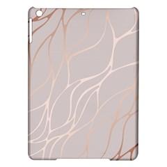 Rose Gold, Wave,beautiful,feminine,chic,elegant,metallic,modren,wedding,pink,trendy Ipad Air Hardshell Cases by 8fugoso