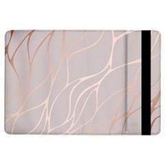 Rose Gold, Wave,beautiful,feminine,chic,elegant,metallic,modren,wedding,pink,trendy Ipad Air Flip by 8fugoso
