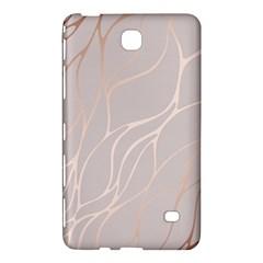 Rose Gold, Wave,beautiful,feminine,chic,elegant,metallic,modren,wedding,pink,trendy Samsung Galaxy Tab 4 (8 ) Hardshell Case  by 8fugoso