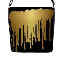 Drip Cold Flap Messenger Bag (l)  by 8fugoso