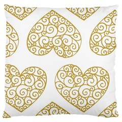 All Cards 36 Large Cushion Case (two Sides) by SimpleBeeTree