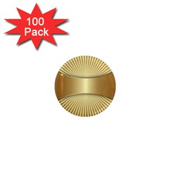 Gold8 1  Mini Magnets (100 Pack)  by 8fugoso