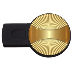 Gold8 Usb Flash Drive Round (2 Gb) by 8fugoso