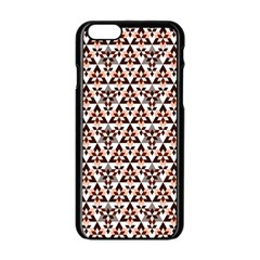 Snowflake With Crystal Shapes 2 Apple Iphone 6/6s Black Enamel Case by Cveti