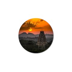 Beautiful Village Of Hampi Golf Ball Marker (4 Pack) by Celenk