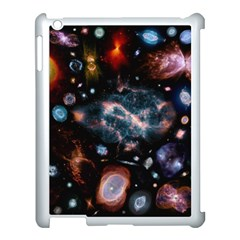 Galaxy Nebula Apple Ipad 3/4 Case (white) by Celenk