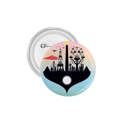 Future City 1 75  Buttons by Celenk
