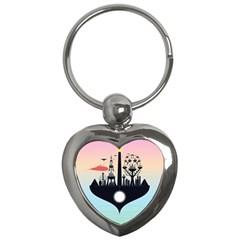 Future City Key Chains (heart)