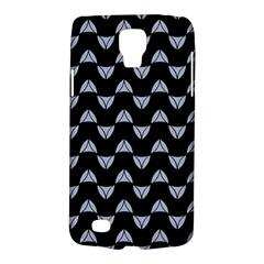 Wave Pattern Black Grey Galaxy S4 Active by Cveti