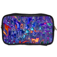 Melted Fractal 1b Toiletries Bags 2 Side by MoreColorsinLife