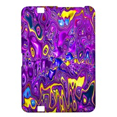 Melted Fractal 1a Kindle Fire Hd 8 9  by MoreColorsinLife