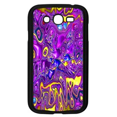Melted Fractal 1a Samsung Galaxy Grand Duos I9082 Case (black) by MoreColorsinLife