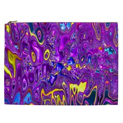 Melted Fractal 1a Cosmetic Bag (xxl)  by MoreColorsinLife