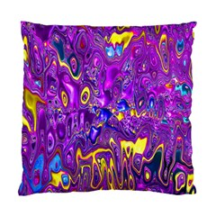Melted Fractal 1a Standard Cushion Case (one Side) by MoreColorsinLife